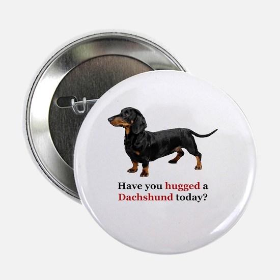 "Cute Funny dachshund 2.25"" Button"