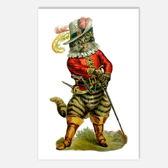 Puss In Boots Postcards (Package of 8)