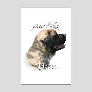 Mastiff(fluff)Mom2 Mini Poster Print