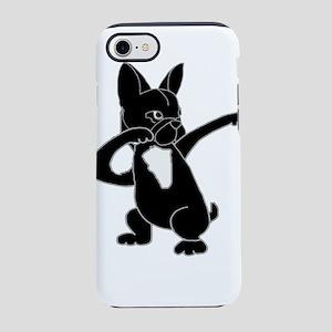 Cute French Bulldog Dabbing iPhone 8/7 Tough Case