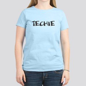 Techie Women's Black T-Shirt