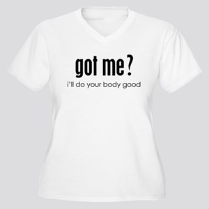 got me? Women's Plus Size V-Neck T-Shirt