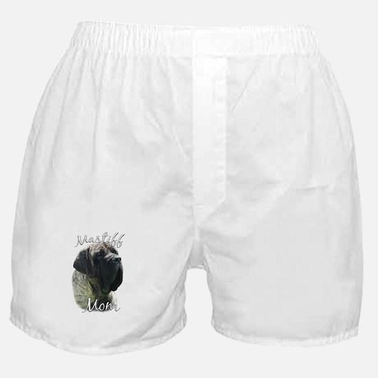 Mastiff(brindle)Mom2 Boxer Shorts
