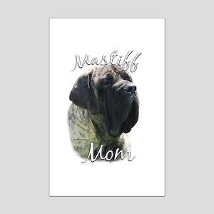 Mastiff(brindle)Mom2 Mini Poster Print