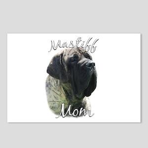 Mastiff(brindle)Mom2 Postcards (Package of 8)