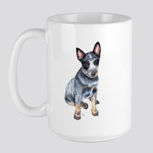 Australian Cattle Dog Large Mug