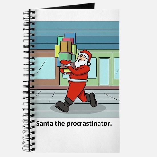 Santa The Procrastinator Journal
