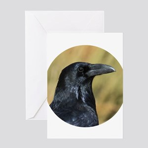 Moab Raven Greeting Cards