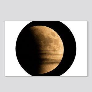 Eclipse with clouds Postcards (Package of 8)