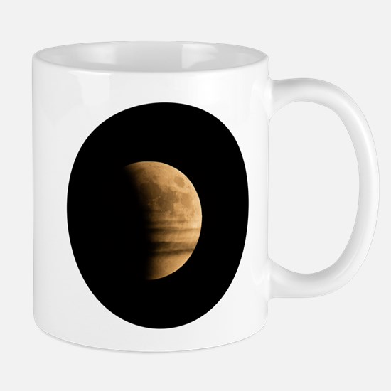 Eclipse with Clouds Mugs