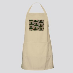 Little Girl Chistmas Trees Apron
