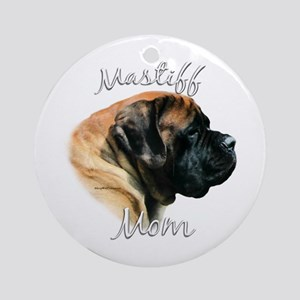 Mastiff(apricot)Mom2 Ornament (Round)