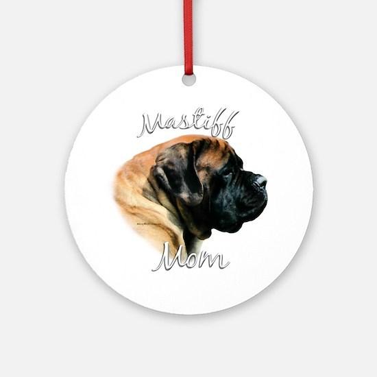 Mastiff(apricot)Mom2 Ornament (Round)
