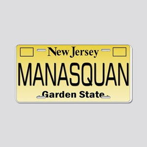 Manasquan, NJ Tag Gifts Aluminum License Plate