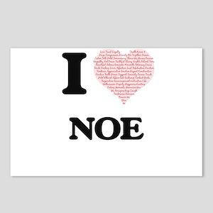I Love Noe (Heart Made fr Postcards (Package of 8)