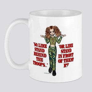 Stand Behind the Troops Corps Mug