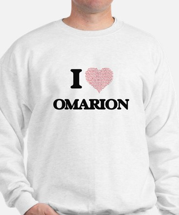 I Love Omarion (Heart Made from Love wo Sweatshirt