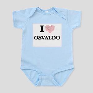 I Love Osvaldo (Heart Made from Love wor Body Suit