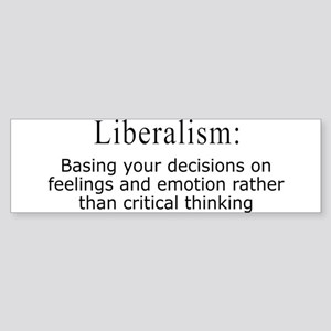 Liberalism Defined Bumper Sticker