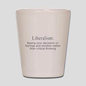 Liberalism Defined Shot Glass