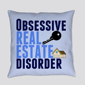 Funny Real Estate Everyday Pillow