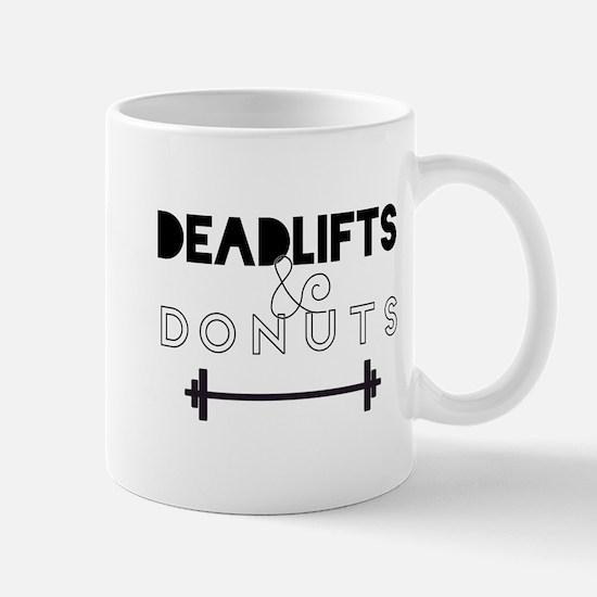Deadlifts & Donuts Mugs