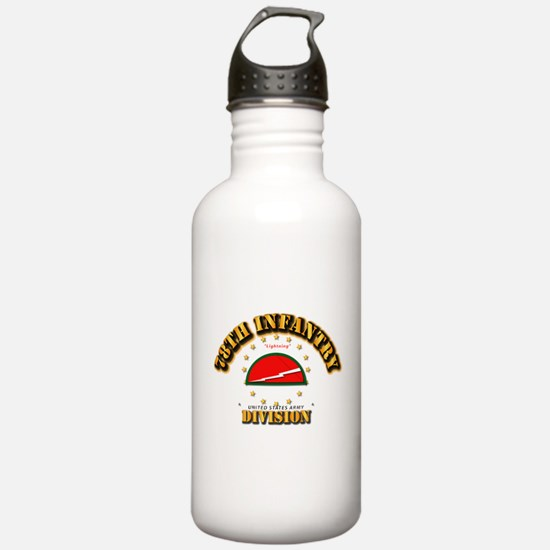 78th Infantry Division Water Bottle