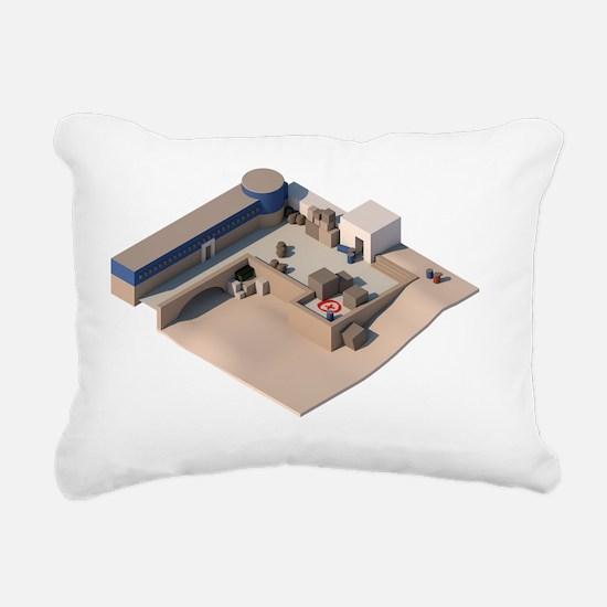 Cute Strike Rectangular Canvas Pillow