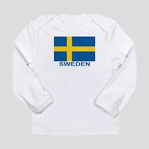 c8a5d7c8 Swedish Flag (w/title) Long Sleeve T-Shirt
