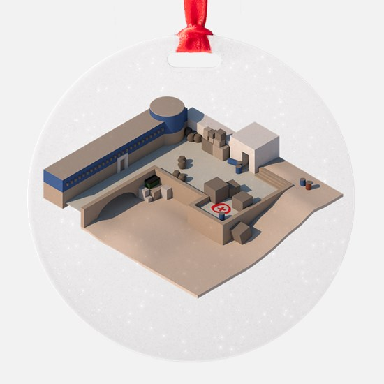 CS:GO de_dust2 A Site Ornament
