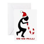 Ho-Ho-Pelli Greeting Cards (Pk of 20), blank