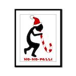 Ho-Ho-Pelli Framed Panel Print