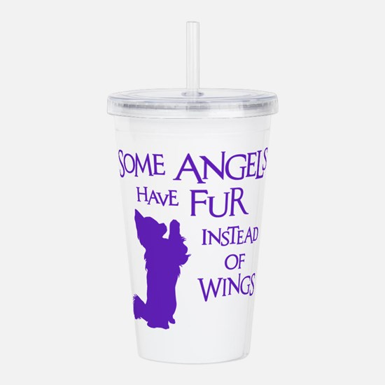 ANGEL DOG Acrylic Double-wall Tumbler