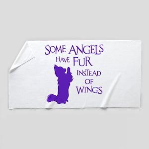 ANGEL DOG Beach Towel
