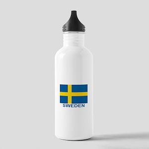 sweden-flag-lebeled.pn Stainless Water Bottle 1.0L