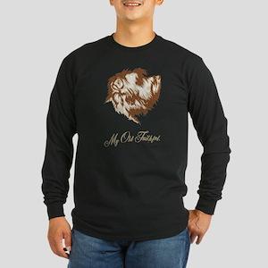 Glen of Imaal Terrier Long Sleeve Dark T-Shirt