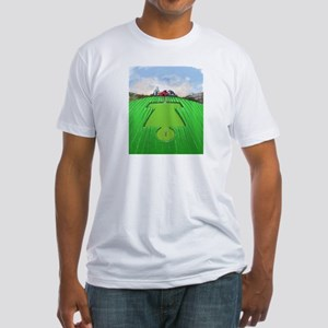 Crop Circles Disc Golf Fantasy Hole T-Shirt