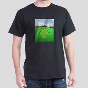 Crop Circles Disc Golf Fantasy Hole T-Shirt