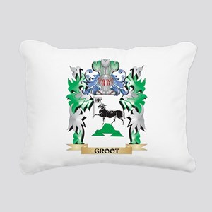 Groot Coat of Arms (Fami Rectangular Canvas Pillow