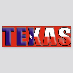 Texas B Bumper Sticker