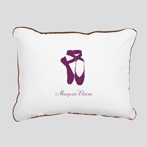 Team Pointe Ballet Orchi Rectangular Canvas Pillow