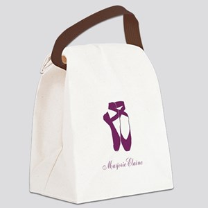 Team Pointe Ballet Orchid Persona Canvas Lunch Bag