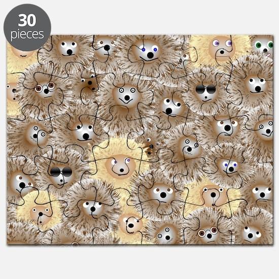 Hedgehog Party Puzzle