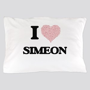 I Love Simeon (Heart Made from Love wo Pillow Case
