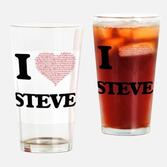 Unique Steve Drinking Glass