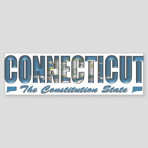 Connecticut Drk B Bumper Sticker