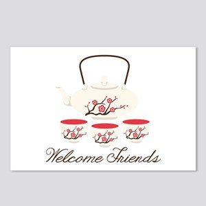 Welcome Friends Postcards (Package of 8)