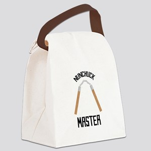 Nunchuck Master Canvas Lunch Bag