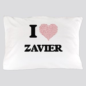 I Love Zavier (Heart Made from Love wo Pillow Case