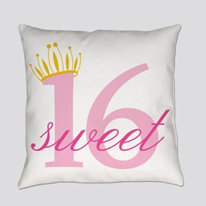 Sweet Sixteen Everyday Pillow